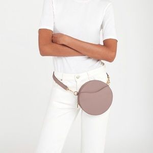 Dusty Rose Cuyana XS/S Circle Belt Bag